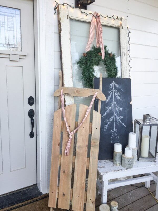 Diy Wood Snow Sled - DIY Campbellandkellarteam