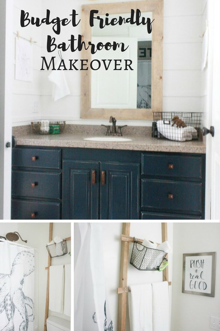 Economical Bathroom Makeovers my budget friendly bathroom makeover | reveal - twelve on main