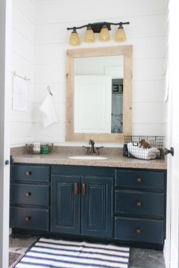 My Budget Friendly Bathroom Makeover Reveal Twelve On Main - Family dollar bathroom makeover