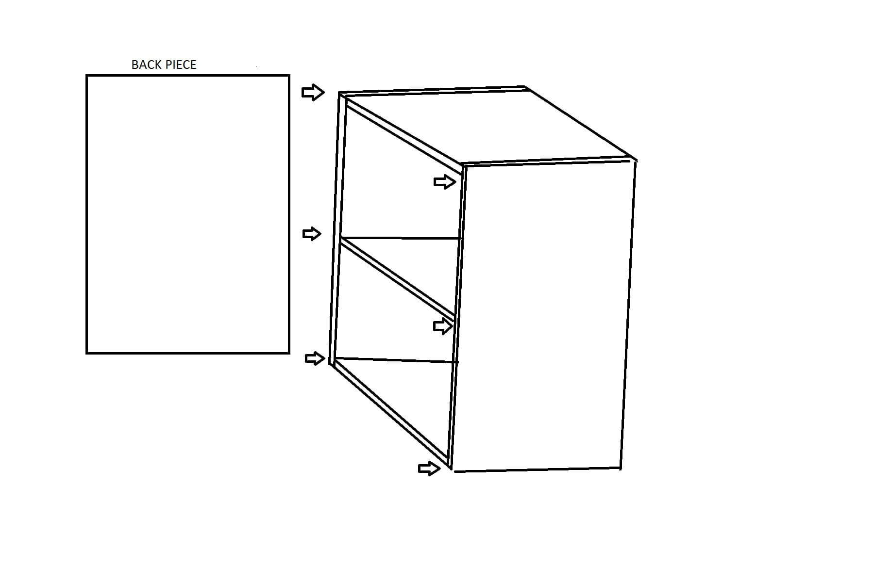 Use these drawings to create your very own DIY laundry folding table. Its so easy!
