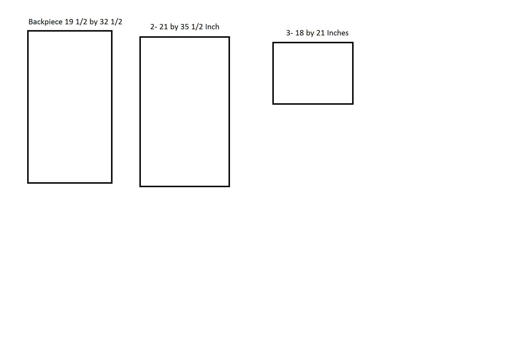 Here are the drawings for how to build the shelf in our DIY laundry folding table.