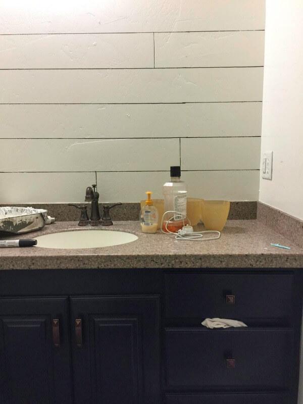 Boys bathroom remodel | boys bathroom | bathroom remodel | $100 Room Challenge
