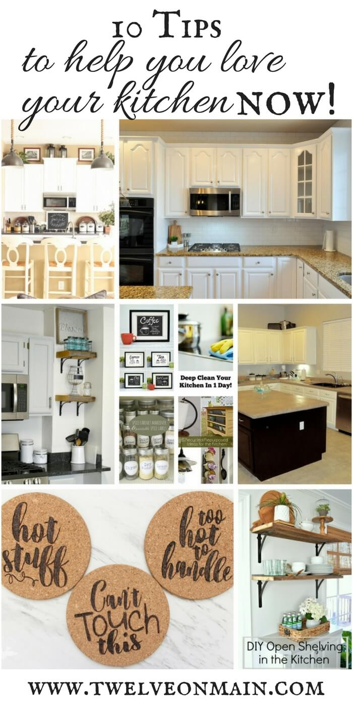 Try these 13 kitchen decor ideas to help you love your kitchen now!