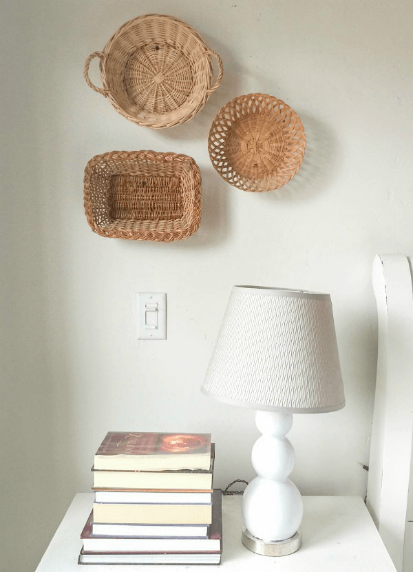 Create Farmhouse Style With Thrift Basket Wall Decor