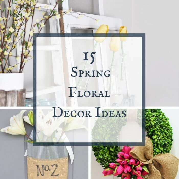 15 Spring Floral Decor Ideas | Merry Monday