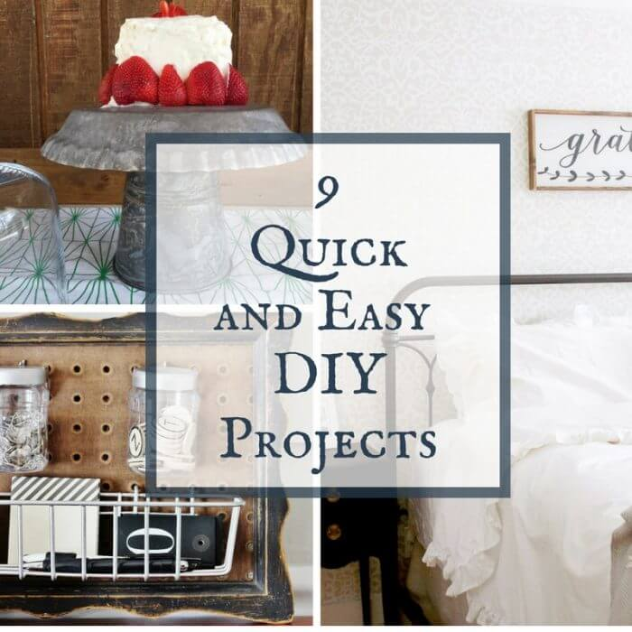 Projects that can be done at home