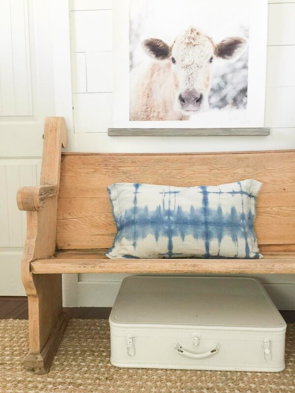 How to make shibori fabric using painters canvas drop cloth fabric