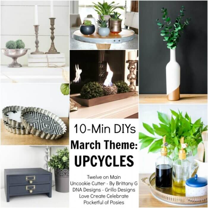 10 Minute Farmhouse Style Book Decor