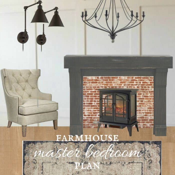 Farmhouse Master Bedroom Plan | One Room Challenge Week 1