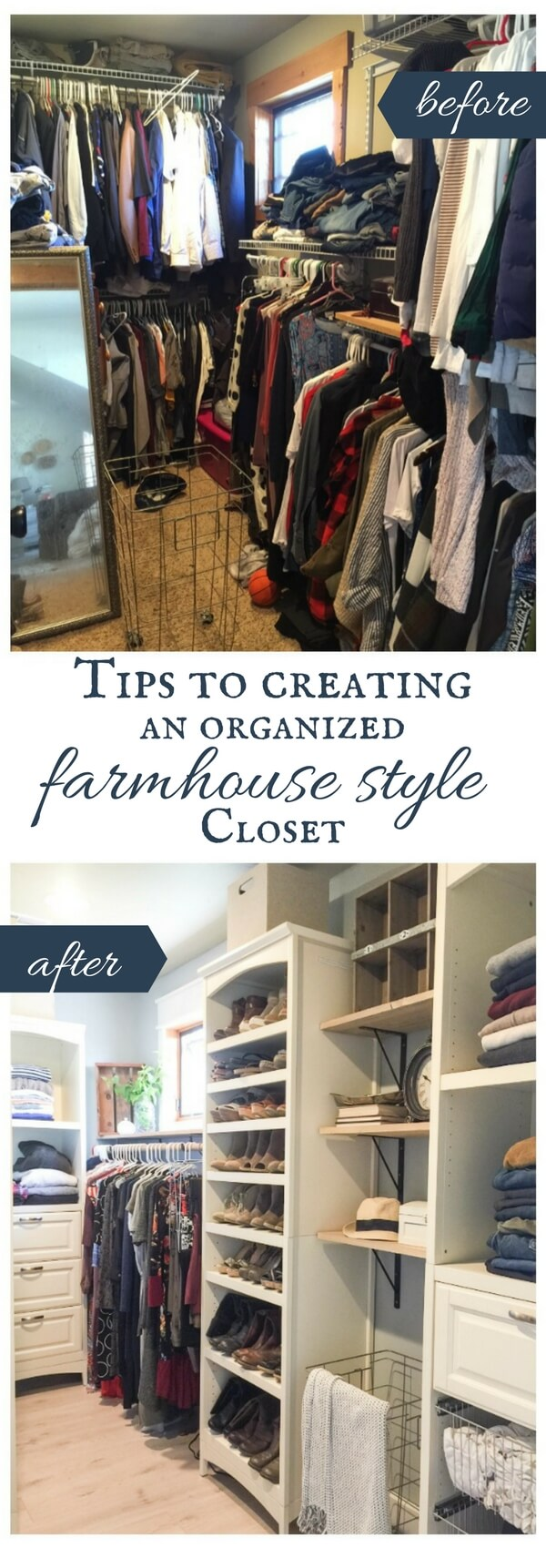 Tips to creating a closet design that is organized as well as stylish