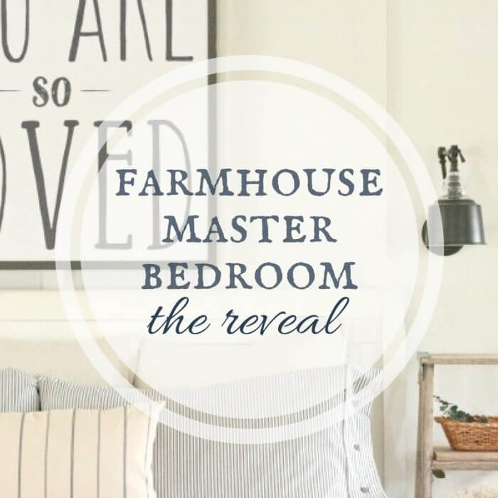 Farmhouse master bedroom remodel | farmhouse decor