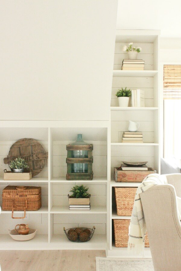 How to style decorative wall shelves like a boss!