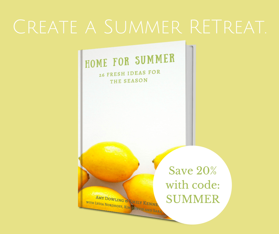 Create a summer retreat with our Home for Summer Ebook!