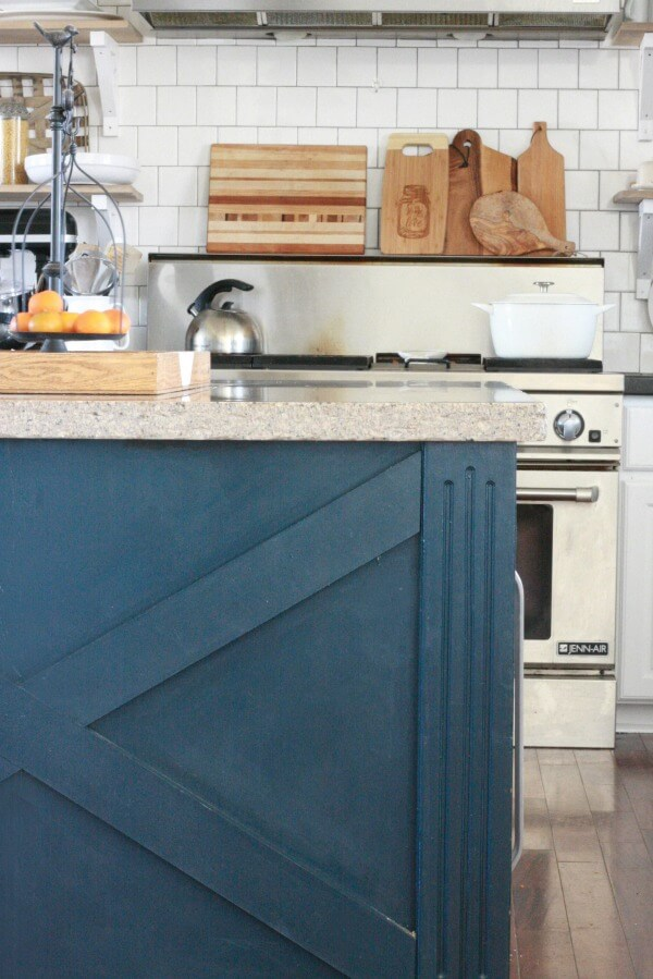 DIY kitchen island X design | X design | kitchen cabinets | farmhouse style kitchen ideas | kitchen design ideas | kitchen island |
