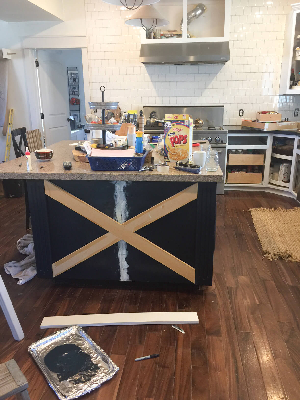 DIY Kitchen Island X Design | X Design | Kitchen Cabinets | Farmhouse Style  Kitchen Ideas