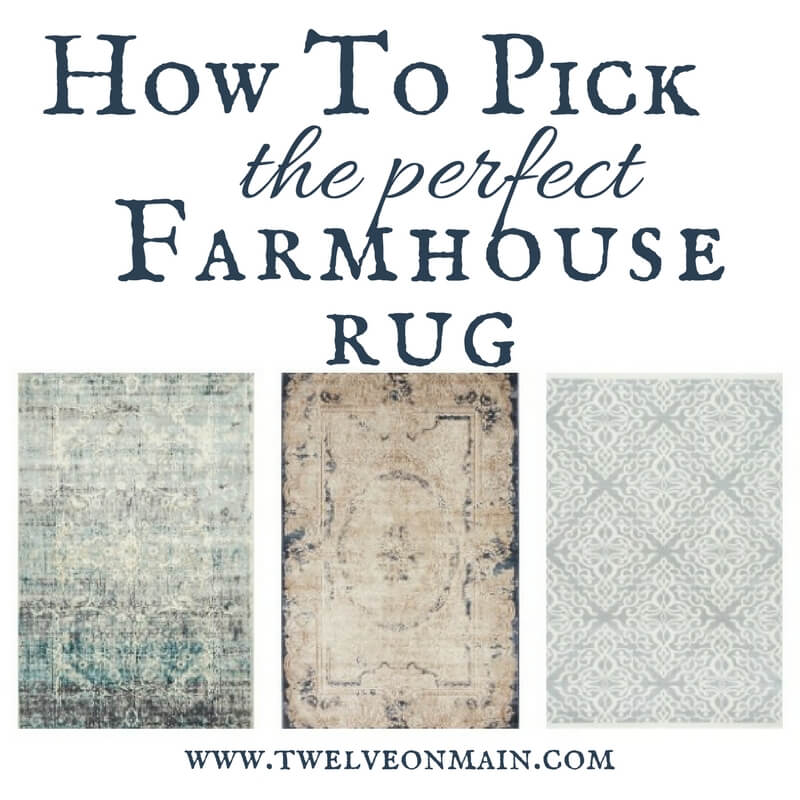 Helpful Tips To Help You Find The Perfect Farmhouse Style Rug For Your Home