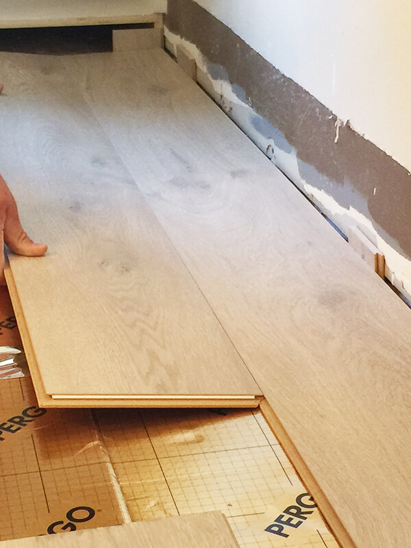 Install Pergo Laminate Flooring For A Farmhouse Look Modern Oak