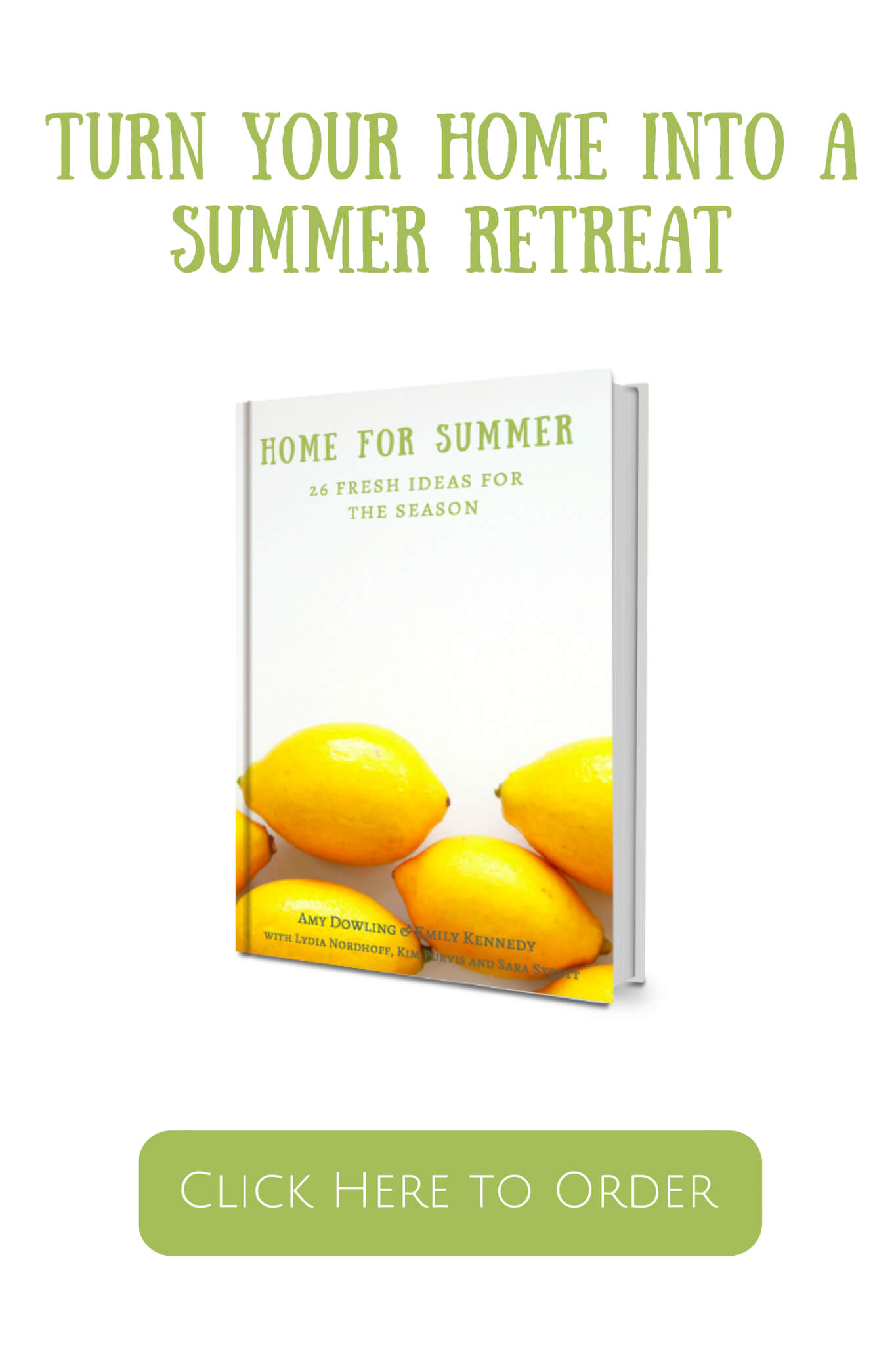 Create a summer retreat with our new Home for Summer Ebook!