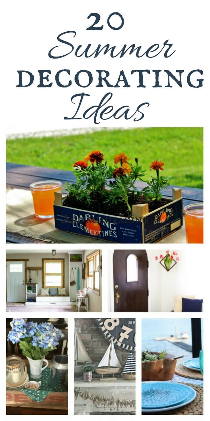 Summer decorating ideas for your home.