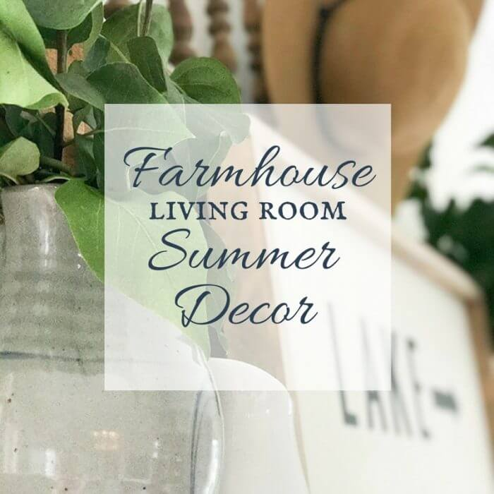 Farmhouse Living Room Ideas for the Summer