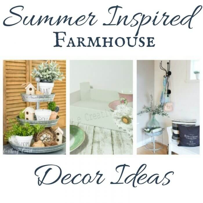 12 Summer Inspired Farmhouse Decor Ideas
