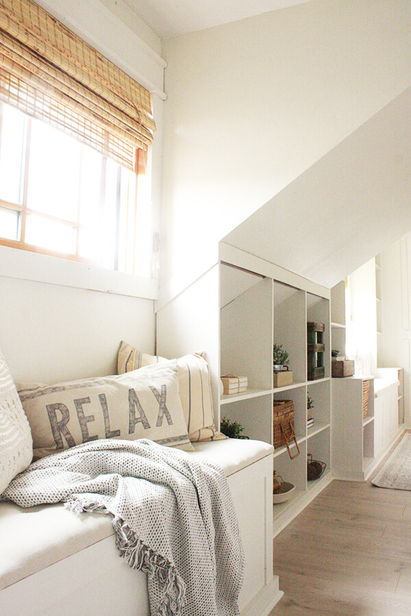 My favorite farmhouse bedroom features twelve on main for Farmhouse master bedroom