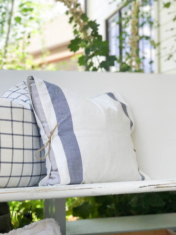 DIY pillow covers