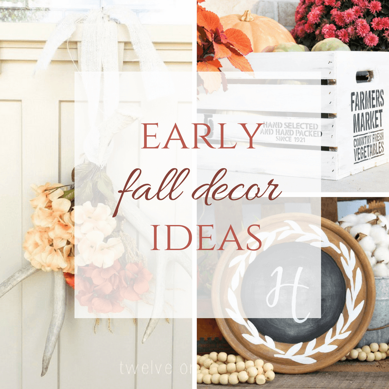 Early Fall Decor Ideas to Add to Your Home Now!