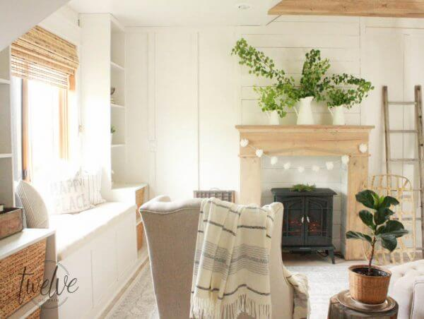 13 stunning fake fireplace ideas that will take your home to the next level, and keep you under budget!