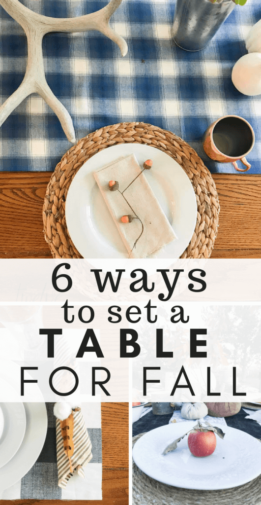 Check out these awesome fall tablescape ideas and all the fun ways you can decorate your table!
