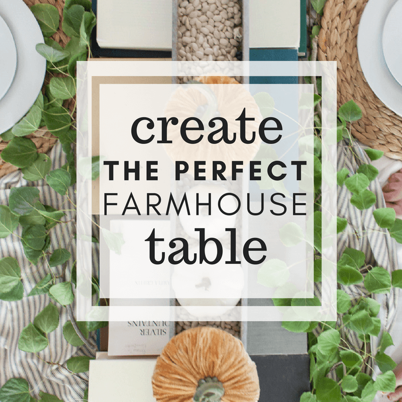 Glamorous Farmhouse Style Fall Table