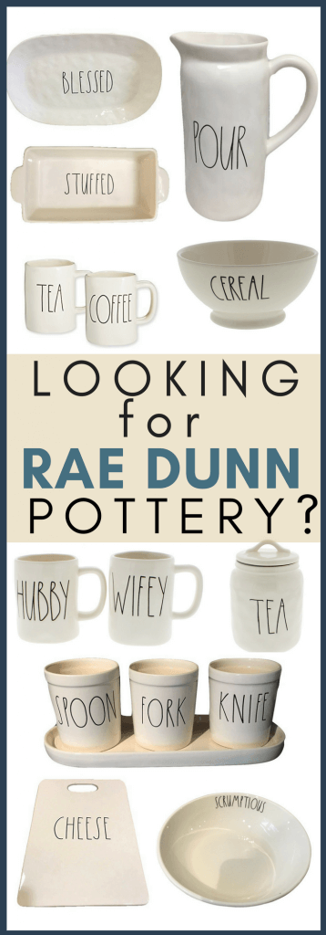 Rae Dunn Clay pottery has been so hard to find! Dont fret! I have gathered up over 65 individual pieces that would be the perfect gift!
