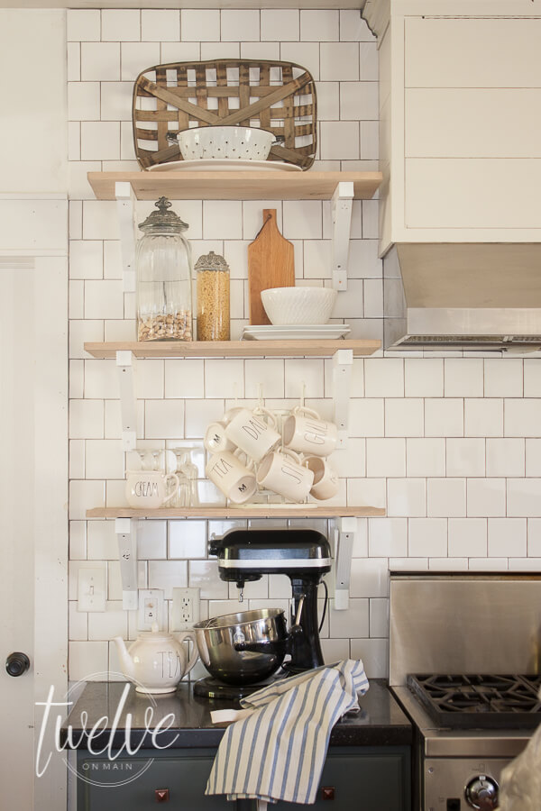 Farmhouse Style Open Shelves In The Kitchen Make Sure To Read This And Get All