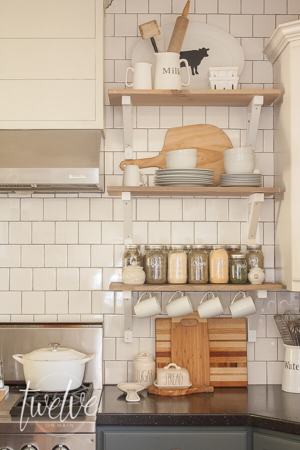 Subway tile backsplash ideas.