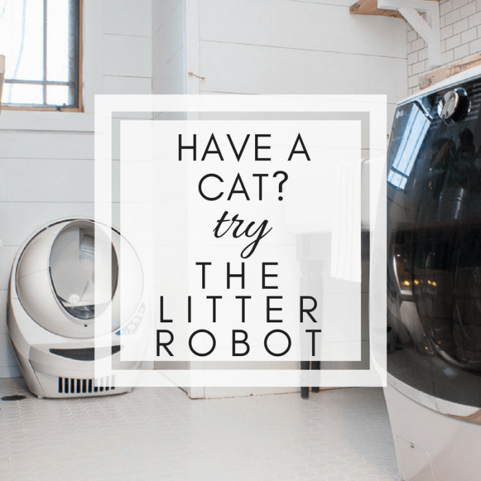 Have you heard of The Litter Robot?  Are you tired of cleaning out the litterbox?  See my full Litter Robot review and why this appliance has saved my sanity.