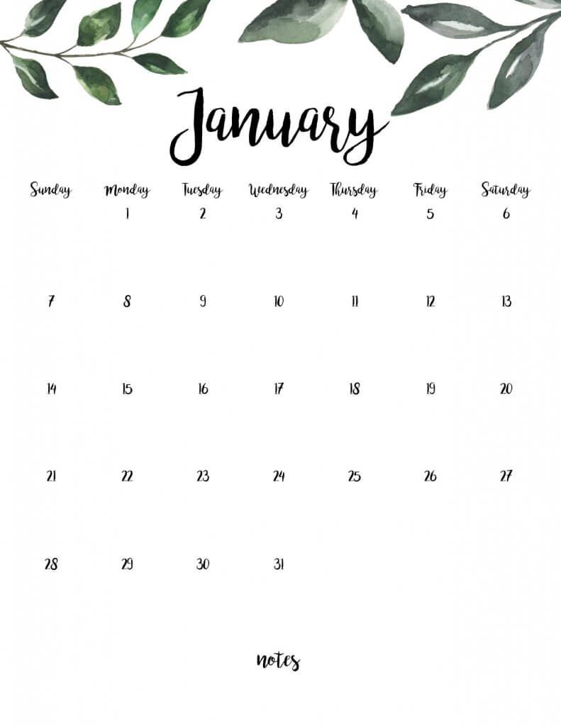 Free 2018 printable calendars twelve on main free farmhouse style printable 2018 calendar solutioingenieria Choice Image