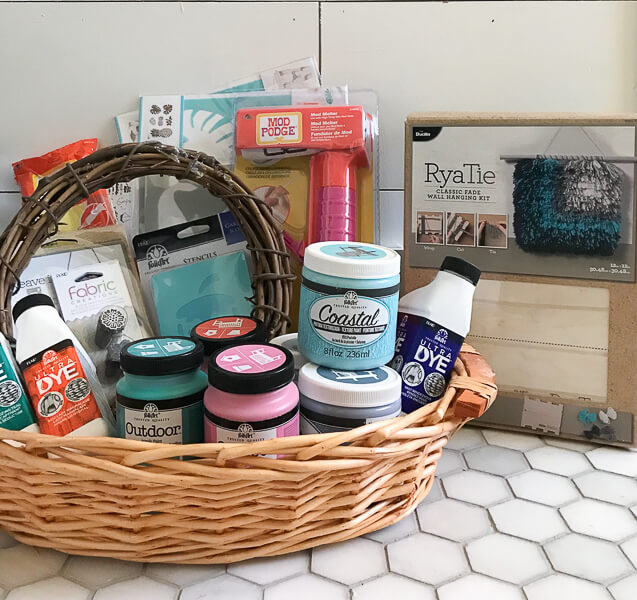 Amazing craft supply giveaway is happening now!