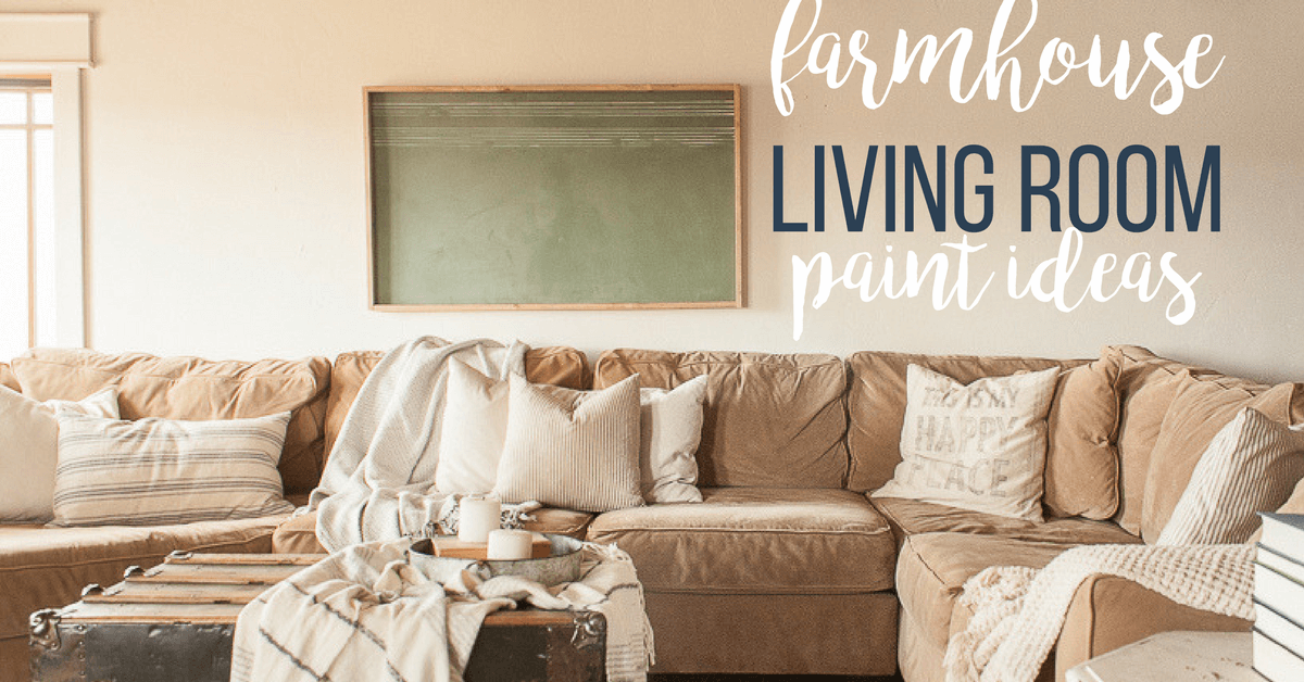 Farmhouse Living Room Refresh with Paint - Twelve On Main