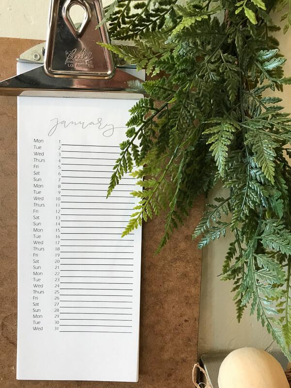 Free Printable Perpetual Calendar - Twelve On Main