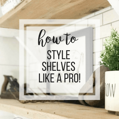 How to Style Decorative Shelves Like a Designer