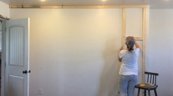 How to install an inexpensive board and batten wall treatment in your home!