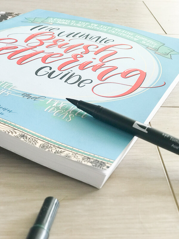 Use these Tombow dual brush pens and try your hand at handlettering.