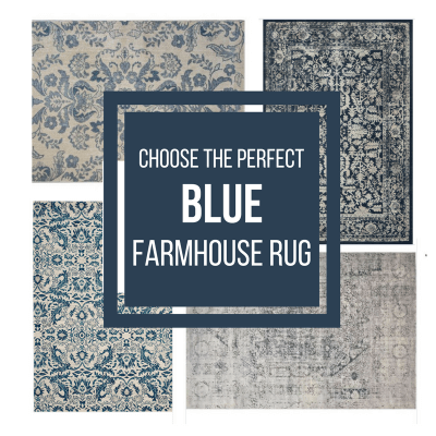 30 Beautiful Blue Farmhouse Rugs To Try in Your Home Now!