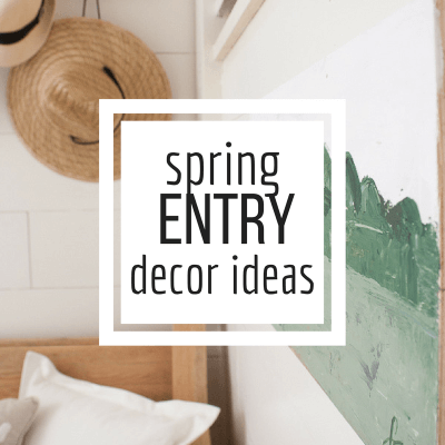 Spring Entryway Decor Ideas