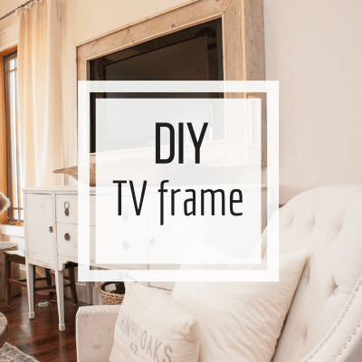 How to Make Your Own TV Frame