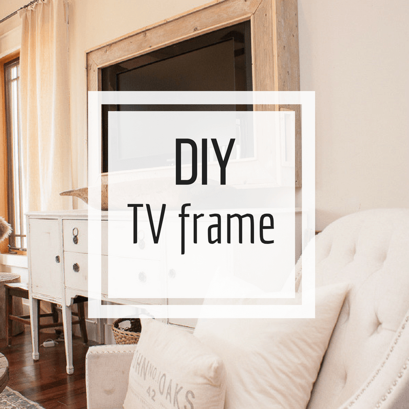 Build a TV frame for you house!
