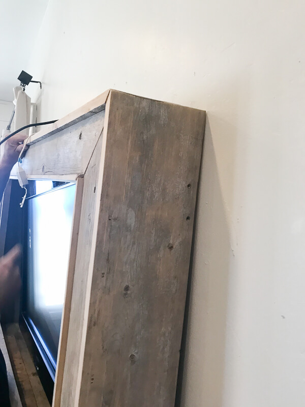 Come learn how to build your own TV frame and hide that ugly television.