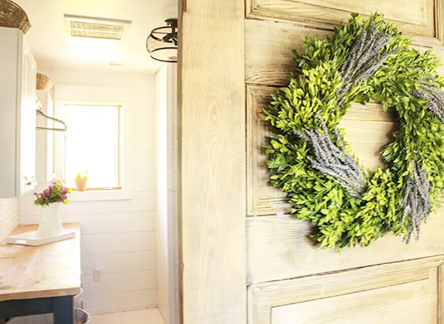 Adding a boxwood wreath to your home decor can work for all seasons and be a beautiful addition to your space!