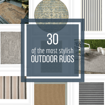 30 of the Most Stylish Outdoor Rugs for Your Home