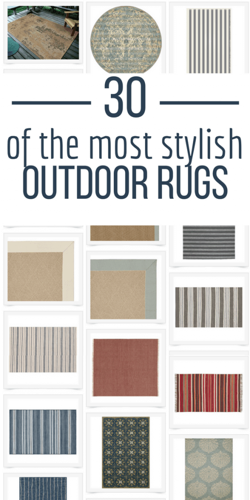 With over 30 outdoor rugs to choose from, you are guaranteed to find the perfect outdoor rug for your home! Check out the collection here.....